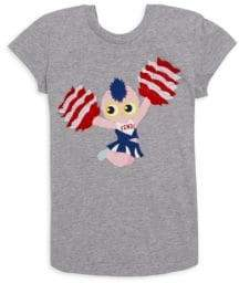 Fendi Toddler's, Little Girl's& Girl's Cotton Cheerleader Tee