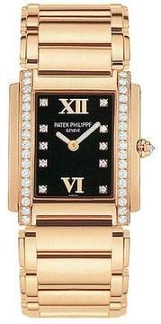 Patek Philippe Twenty~4 18kt Rose Gold Diamond Ladies Watch 4910-11R