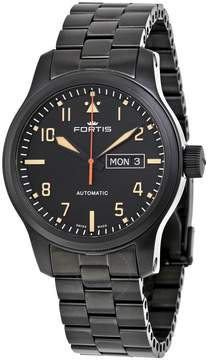 Fortis Aeromaster Stealth Automatic Black Dial Men's Watch
