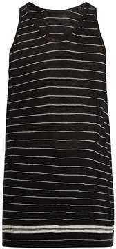 Haider Ackermann Striped cotton-cashmere blend tank top
