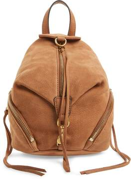 Rebecca Minkoff Mini Julian Nubuck Leather Convertible Backpack