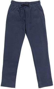 Fred Mello Woven Cotton Blend Pants