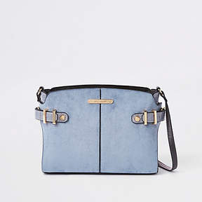 River Island Blue tab side cross body bag