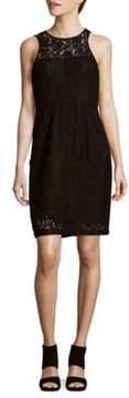 Donna Morgan Harlow Lace Illusion Dress