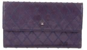 Chanel Diamond Stitch CC Wallet