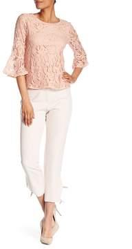 Adrianna Papell Tie-Hem Slim Fit Crop Pants