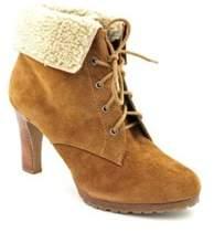 Alfani Womens Veronika Leather Closed Toe Ankle Fashion Boots.