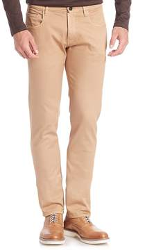 Pal Zileri Men's Slim-Fit Textured Jeans