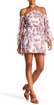 WAYF Liberty Off-the-Shoulder Minidress