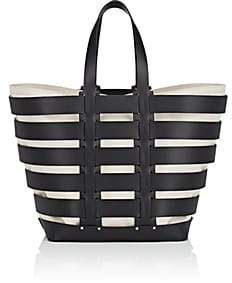 Paco Rabanne Women's Cage Leather Tote-Black