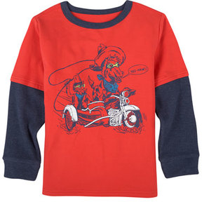 Andy & Evan Moto Cowboy Graphic T-Shirt, Size 2-7