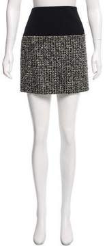 Bouchra Jarrar Tweed Mini Skirt