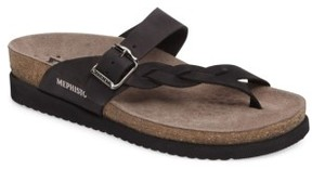 Mephisto Women's 'Helen Twist' Nubuck Leather Sandal