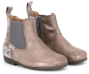 Pépé metallic Chelsea boots