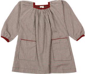 Caramel Turton Micro Checked Dress