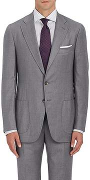 Isaia Men's Dustin Wool-Blend Two-Button Sportcoat