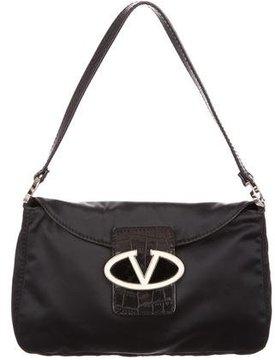 Valentino Satin Shoulder Bag
