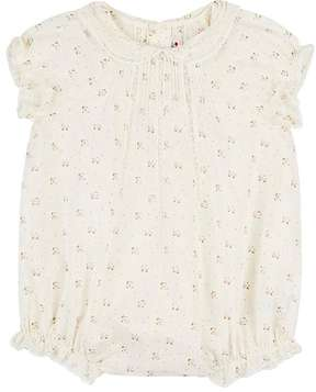 Bonpoint FLORAL COTTON ROMPER