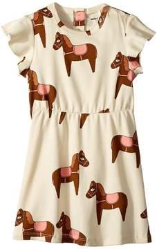 Mini Rodini Horse Dress Girl's Coat