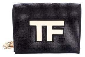 Tom Ford Embellished Suede Icon Disco Crossbody Bag