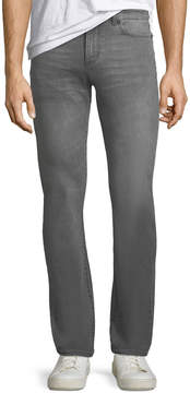 DL1961 Premium Denim Men's Russell Slim Straight Gray Denim Jeans