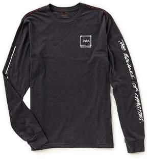 RVCA Scrawl Slim Fit Long-Sleeve T-Shirt