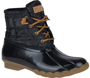 Sperry Saltwater Shiny Quilted Duck Boot