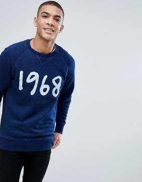 Esprit Crew Neck Sweatshirt with 1968 Print