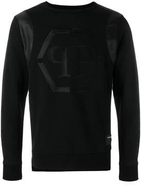 Philipp Plein logo motif sweatshirt
