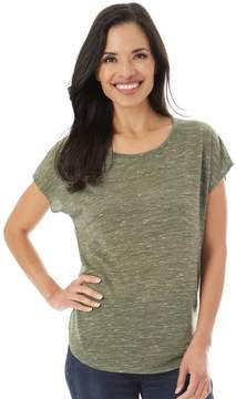 Apt. 9 Women's Crochet Back Tee