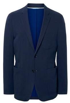 Gant Men's Blue Cotton Blazer.