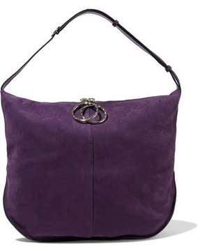 Nina Ricci Kuti Nubuck Shoulder Bag