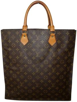 Louis Vuitton Plat cloth tote - BROWN - STYLE