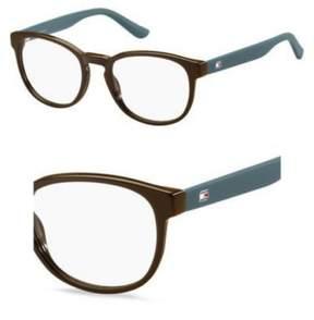 Tommy Hilfiger Eyeglasses T_hilfiger 1423 0VYK Brown Ptrl