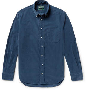 Gitman Brothers Button-Down Collar Cotton-Corduroy Shirt