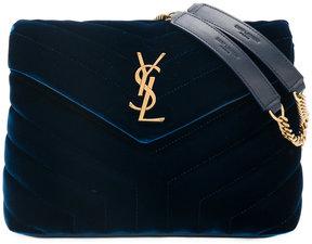 Saint Laurent Loulou chain bag - BLUE - STYLE