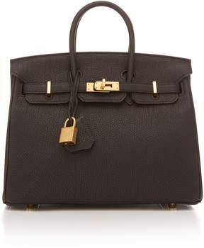 Hermes Vintage by Heritage Auctions 25cm Black Togo Leather Birkin