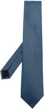 HUGO BOSS square pattern tie