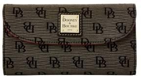 Dooney & Bourke Madison Signature Continental Clutch Wallet - BLACK - STYLE