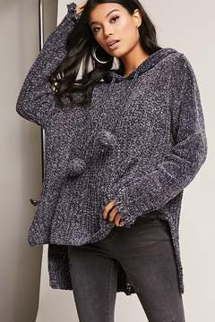 Forever 21 High-Low Hooded Sweater