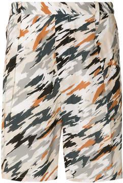 Lemaire camouflage shorts