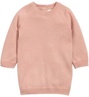 H&M Cashmere-blend Dress - Orange