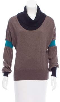 Iceberg Silk & Cashmere Knit Sweater
