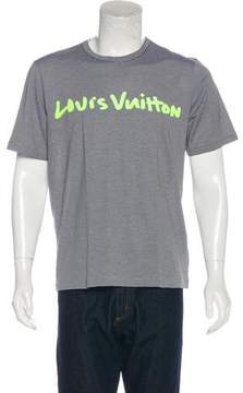 Louis Vuitton Graffiti Graphic T-Shirt