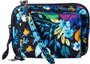 Vera Bradley On The Square Wristlet Wristlet Handbags - MIDNIGHT BLUES - STYLE