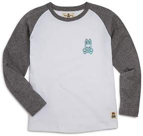 Psycho Bunny Boys' Raglan Tee - Little Kid, Big Kid