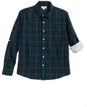 DL1961 Boy's Plaid Woven Shirt