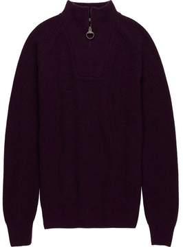Barbour Keswick Rib Half Zip Sweater - Men's