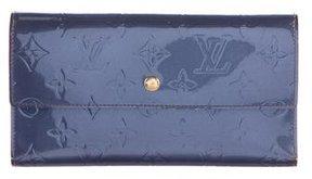 Louis Vuitton Porte-Trésor Vernis International Wallet - BLUE - STYLE