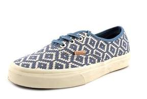 Vans Authentic CA Women US 7 Blue Sneakers